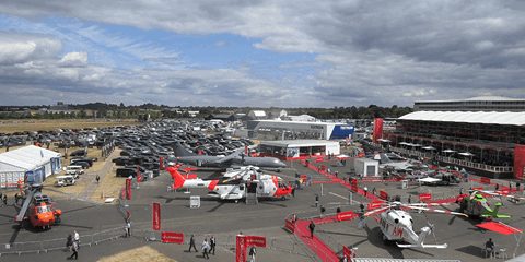 Image for D2i Systems at Farnborough International Airshow 2018